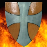 LARP Latex Paladin Shield