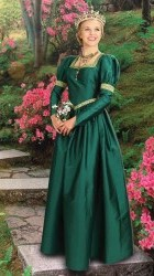 Windsor Gown, green
