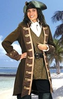 Based on the historic character of female pirate Mary Read, this unusual outfit will turn heads wherever you go!