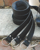 Ring Belts - great costume accessory for women or men