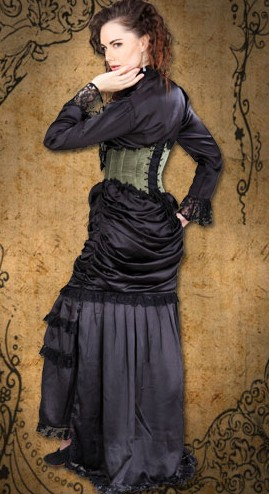 Wickfield Victorian ensemble, back and side view