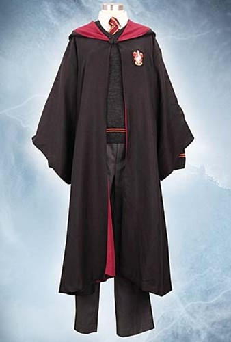 Harry Potter robe with red trim