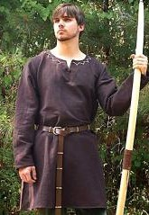 Lord of Huntingdon Undertunic Medieval tunic, part of our Legends of Sherwood collection.