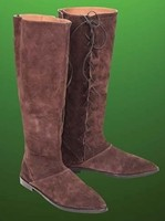 Robin Hood licensed Suede Boots, as seen in the 2010 Universal Pictures movie, Robin Hood