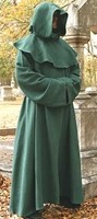 Monks Robe Green, four other colors available