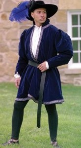 Phillip the Good Doublet in navy, 4 other colors available.