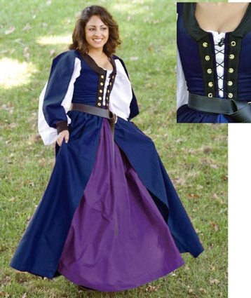 Plus-Sized Medieval and Renaissance Gowns