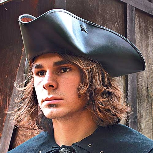 Capt. Jack Leather Pirate Hat
