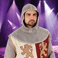 Lightweight faux chainmail tunic and coif