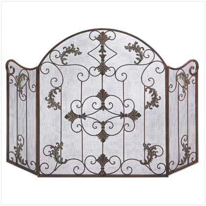 Medieval Fireplace Screen