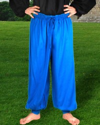 Harem or Pirate Pants in Hawiian Blue, 6 other colors available.