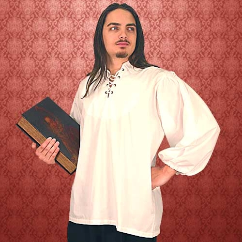 Period white shirt Renaissance to mid-18th Century.