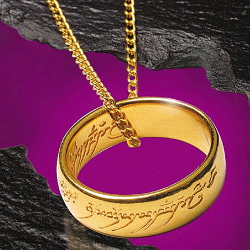 Lord of the Rings One Ring Necklace