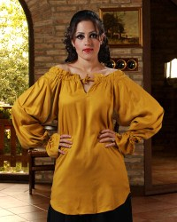 McxGreedy Pirate Blouse in gold.  7 other colors available.