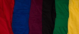 Our cotton petticoats come in six vibrant colors: True red, marine blue, black, kelly green and yellow.