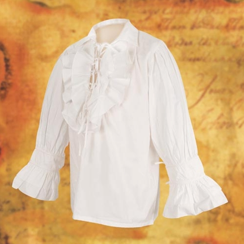 Tortuga pirate shirt in white